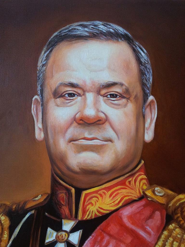 Портрет маслом на холсте в Белгороде