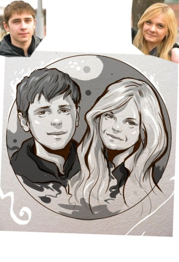 Заказать портрет на годовщину свадьбы в Белгороде
