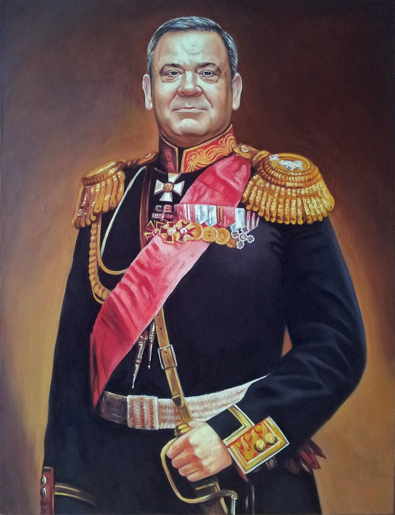 Где заказать портрет маслом в Белгороде?
