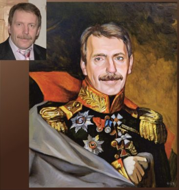 Настоящий портрет маслом на заказ в Белгороде…