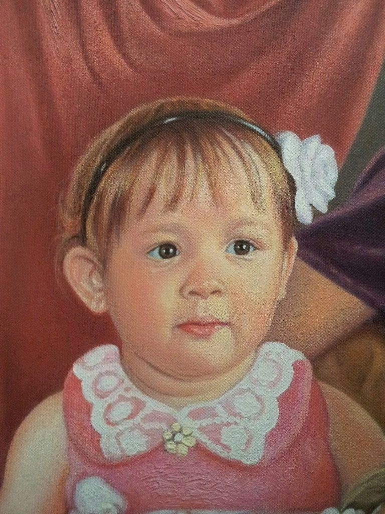 Портрет маслом семейный Белгород