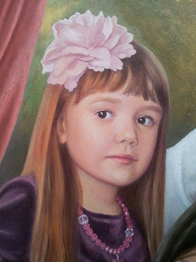 Семейный портрет на холсте Белгород