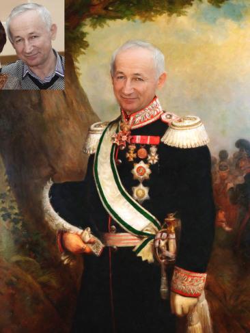 Где заказать исторический портрет по фото на холсте в Белгороде?