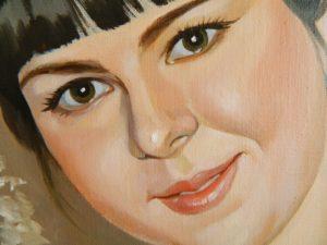 Портрет маслом для начальницы
