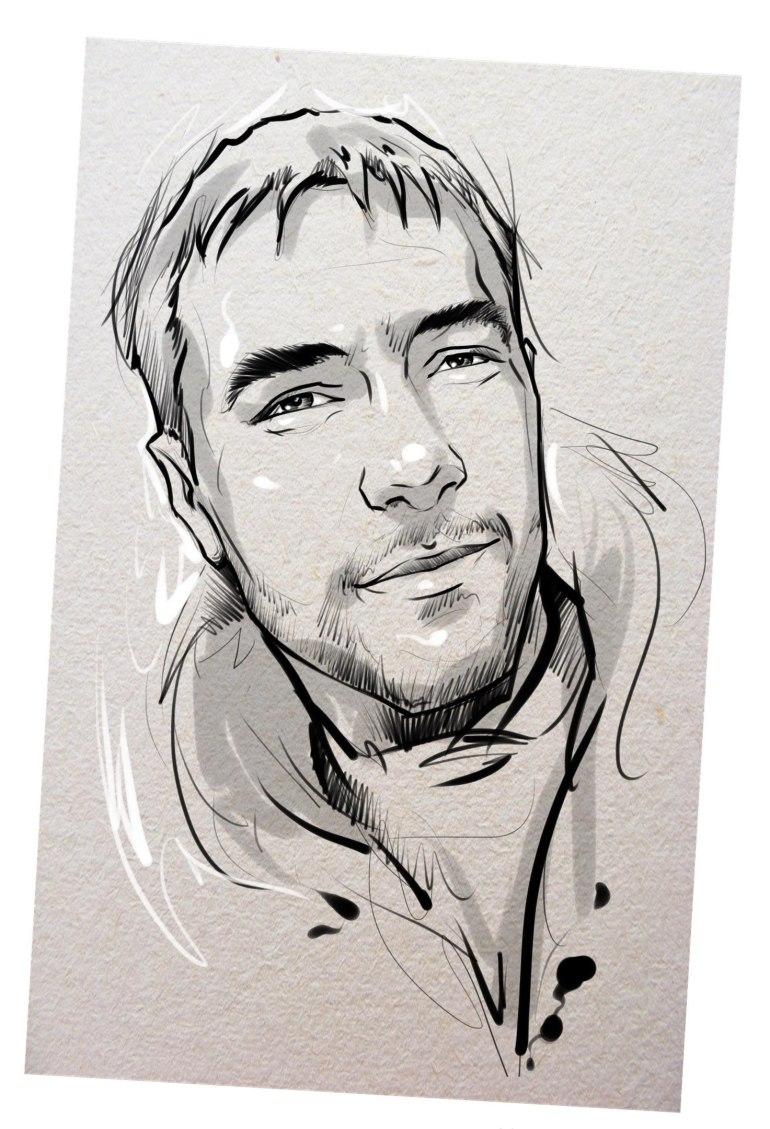 Портрет карандашом любимому мужу в Белгороде…