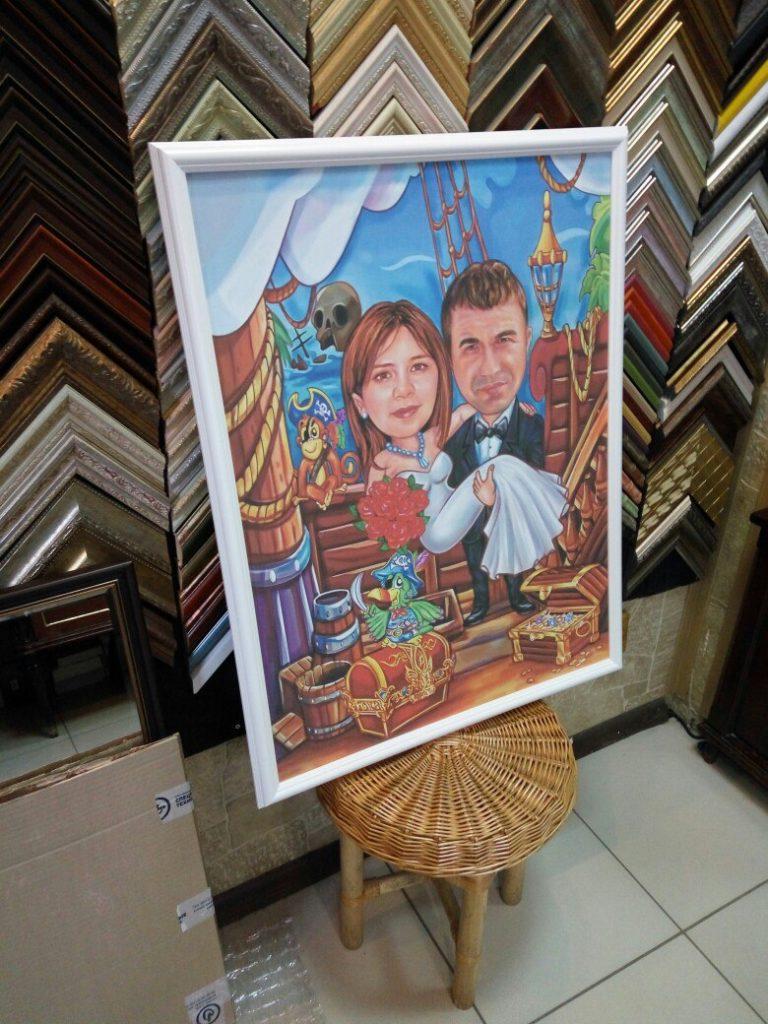 портрет шарж на заказ в Белгороде