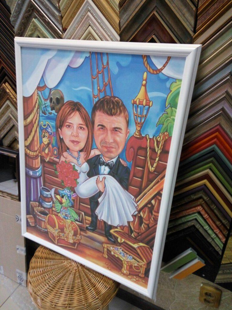шарж по фото на заказ в Белгороде