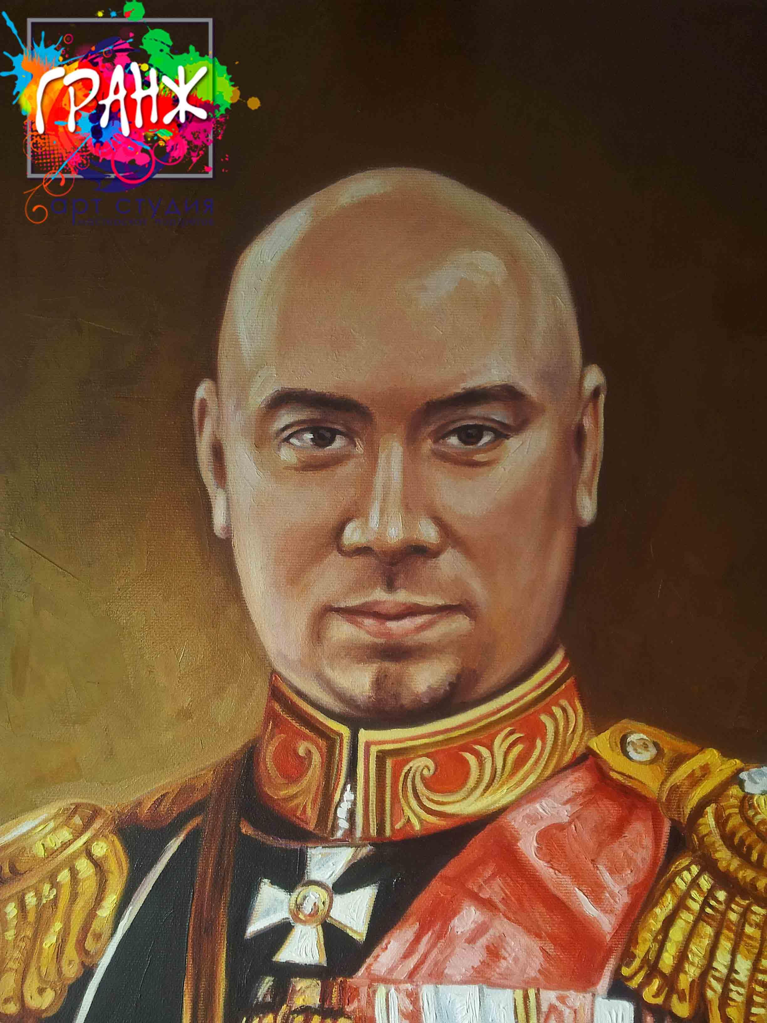 Заказать портрет маслом по фотографии в Белгороде