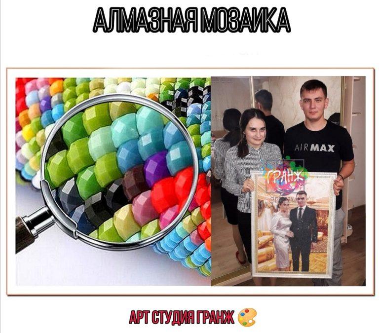 Алмазная мозаика по фото заказать в Белгороде